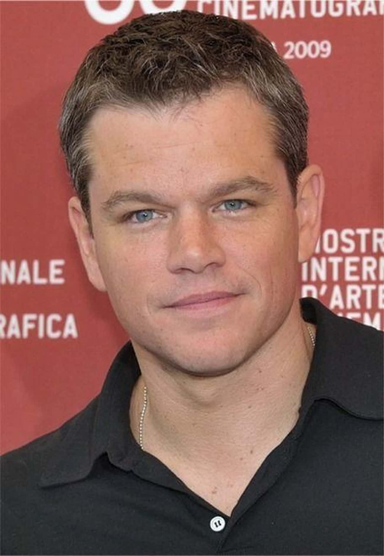 Matt Damon Turned The Tables