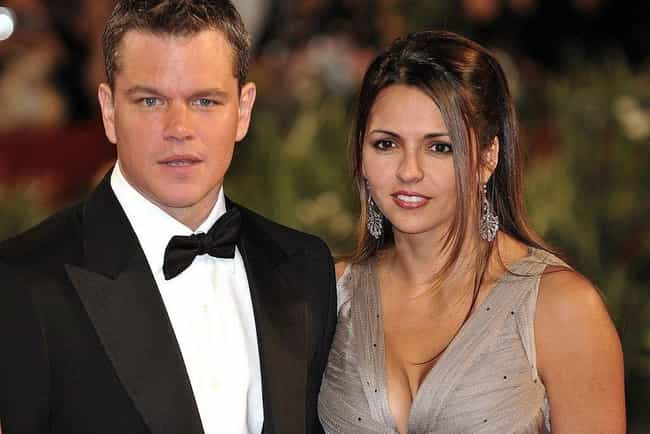 Matt Damon is listed (or ranked) 2 on the list 23 Famous Dads Who Only Have Daughters