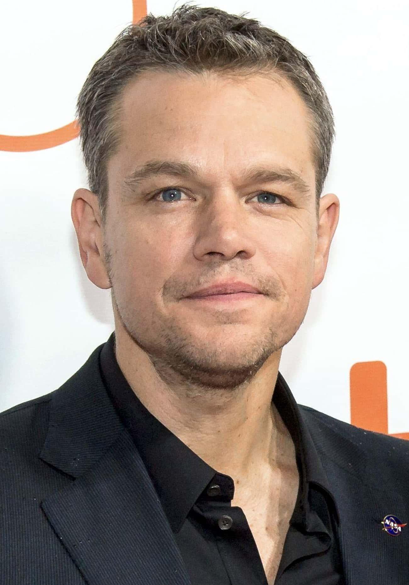 Matt Damon - Harvard University
