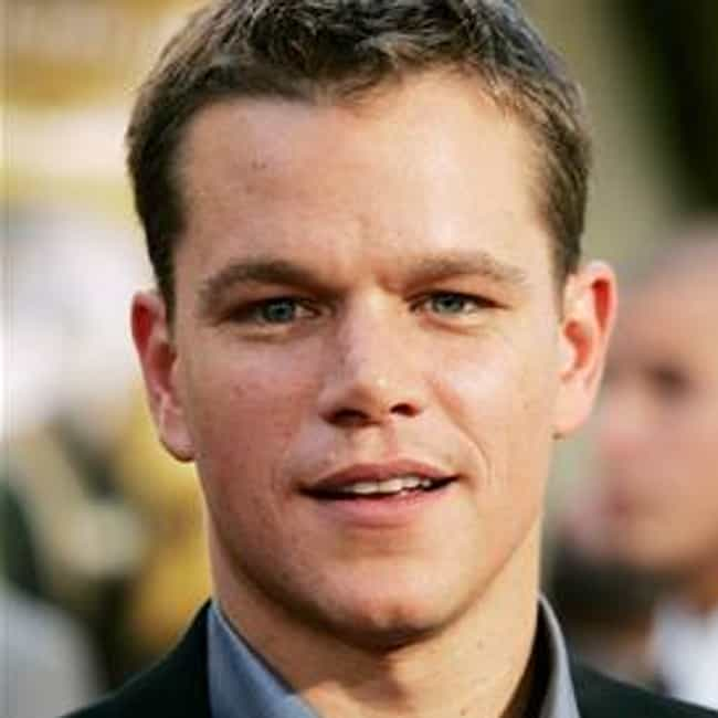 Matt Damon is listed (or ranked) 1 on the list Famous Male Editors