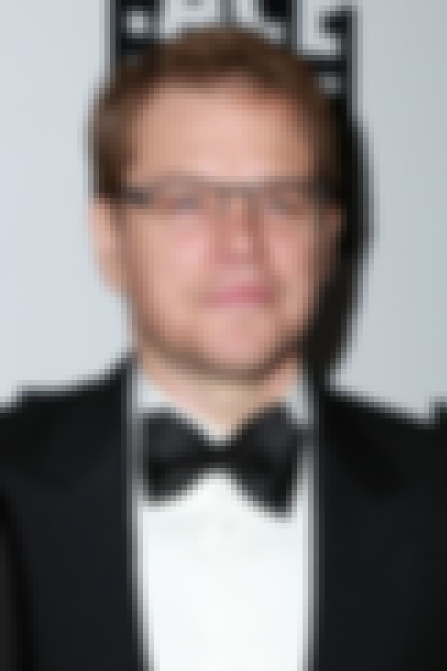 Matt Damon is listed (or ranked) 4 on the list 50+ Famous People of Swedish Descent