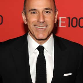 Matt Lauer is listed (or ranked) 3 on the list List of Famous TV Journalists