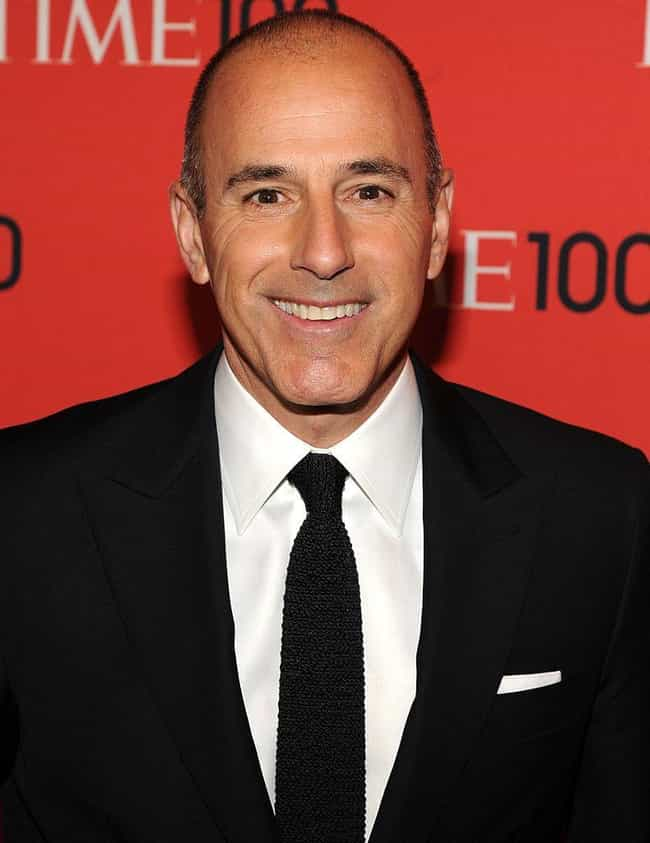 Matt Lauer is listed (or ranked) 3 on the list Famous Male TV Anchors