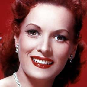 Maureen O'Hara is listed (or ranked) 22 on the list The Best Actresses in Film History