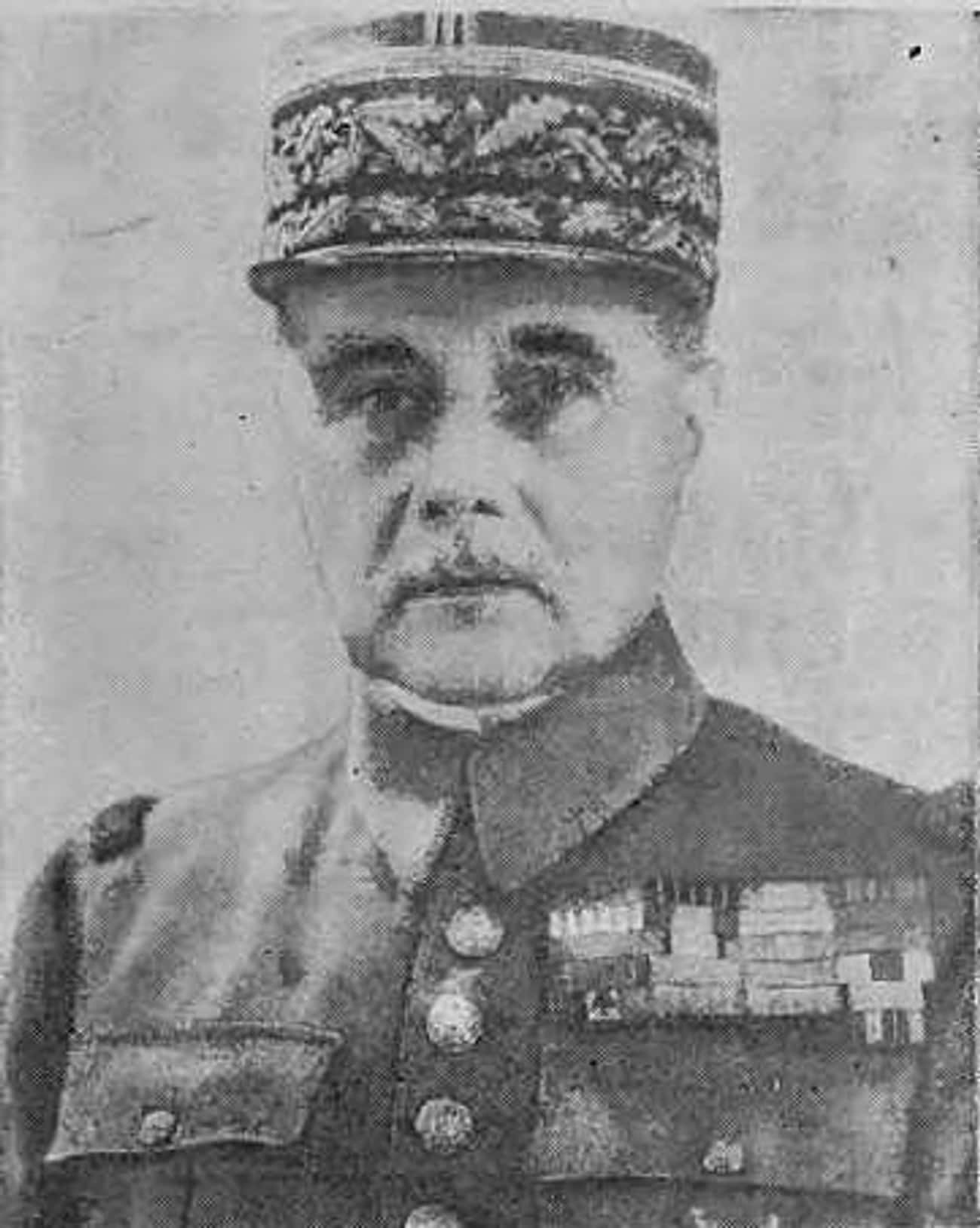 Maurice Gamelin is listed (or ranked) 3 on the list The Worst World War II Generals