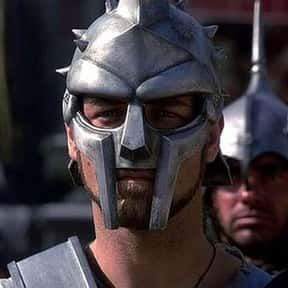 Maximus Decimus Meridius is listed (or ranked) 8 on the list Movie Tough Guys Without Super Powers or a Super Suit