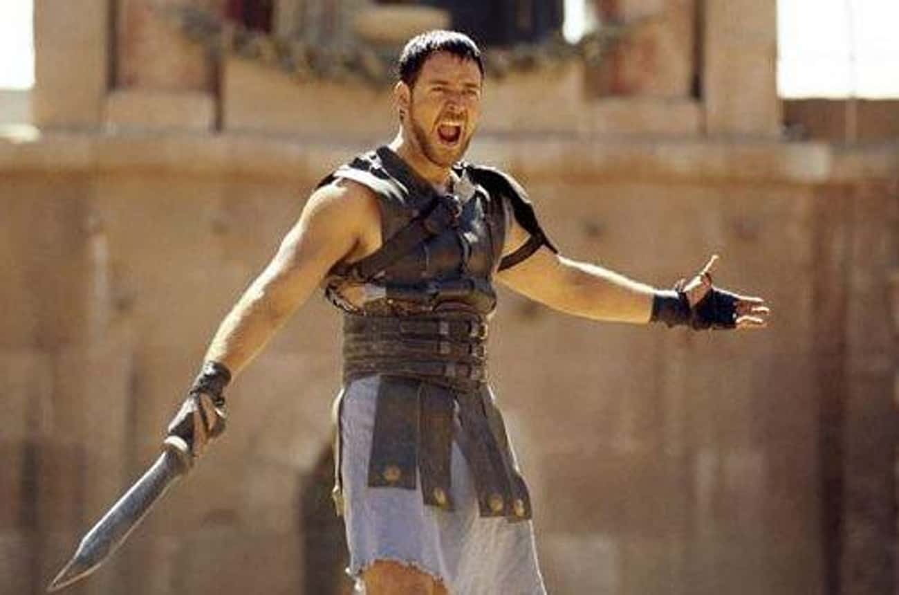 Maximus Decimus Meridius is listed (or ranked) 3 on the list Which Fictional Fighter Would Destroy All Others In A Sword Fight?