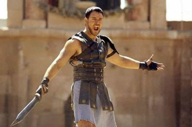 Maximus Decimus Meridius... is listed (or ranked) 4 on the list Which Fictional Fighter Would Destroy All Others In A Sword Fight?