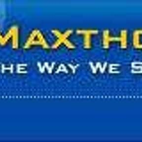 Maxthon is listed (or ranked) 12 on the list The Best Internet Browsers