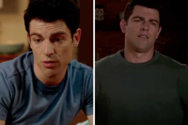 Max Greenfield is listed (or ranked) 3 on the list How the Cast of New Girl Aged from the First to Last Season