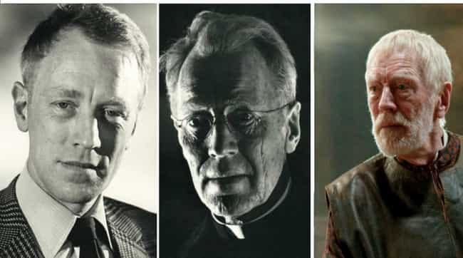 Max von Sydow is listed (or ranked) 3 on the list Actors in Old Age Makeup vs How They Actually Aged