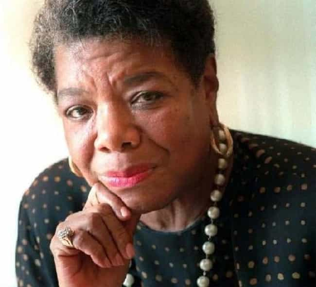 Maya Angelou is listed (or ranked) 3 on the list People Who Most Deserve Biopics (But Don't Have One Yet)