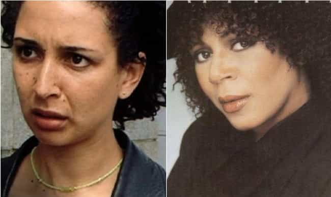 Maya Rudolph is listed (or ranked) 2 on the list 18 Photos Of Celebrities And Their Famous Parents At The Same Age