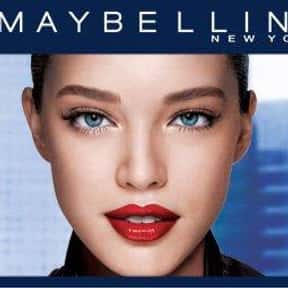 Maybelline is listed (or ranked) 1 on the list The Best Lipstick Brands