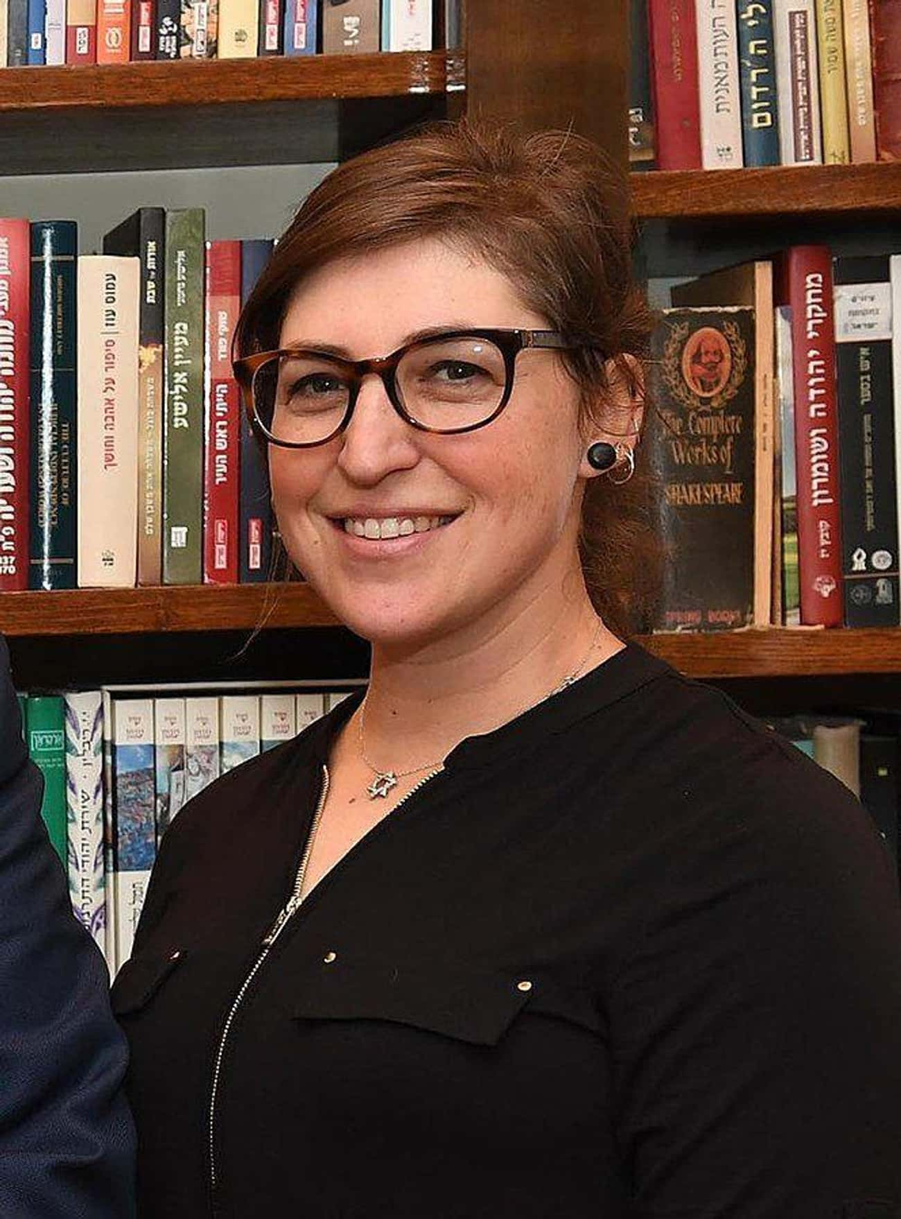 Mayim Bialik is listed (or ranked) 1 on the list 20 Famous People With Master's Degrees