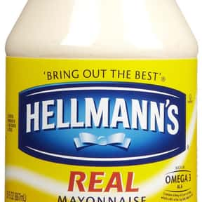 Mayonnaise is listed (or ranked) 19 on the list All Low Carbohydrate Foods
