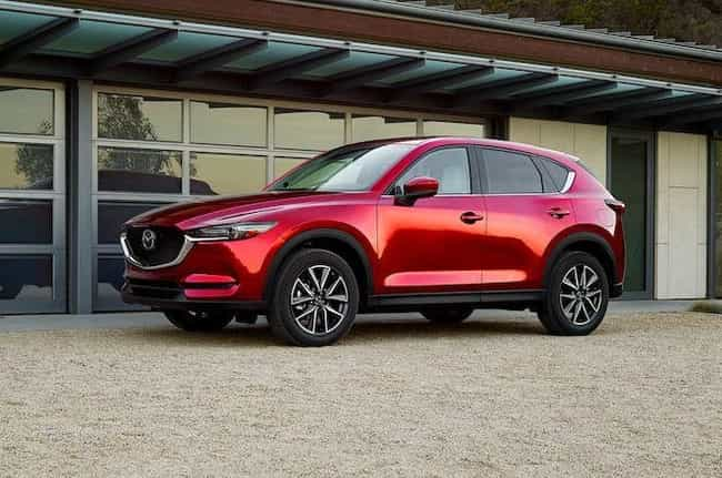 Mazda CX-5 is listed (or ranked) 4 on the list The Best SUVs of 2019