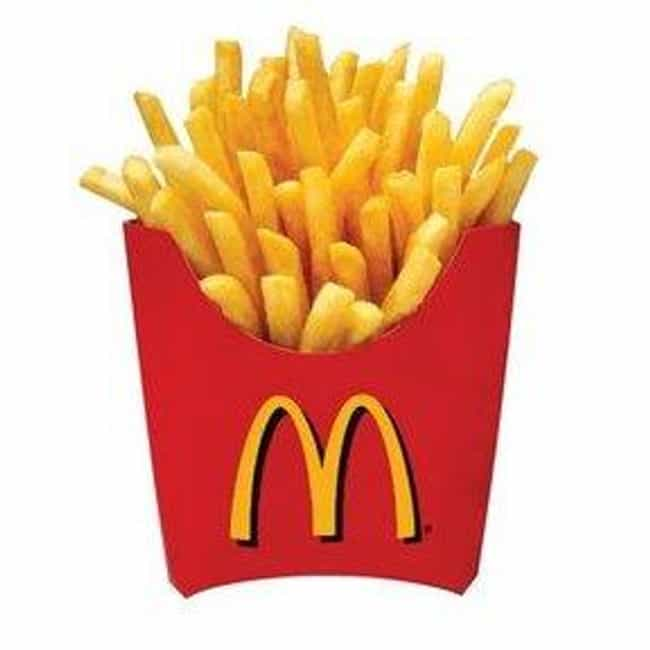 McDonald's is listed (or ranked) 1 on the list The Best Fast Food French Fries