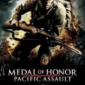 Medal of Honor: Pacific Assaul is listed (or ranked) 17 on the list The Best Video Games Set In WW2