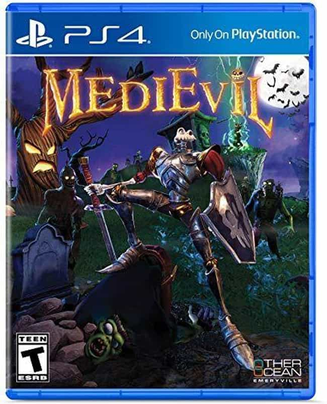 MediEvil is listed (or ranked) 4 on the list The Best Remakes And Remasters For The PlayStation 4