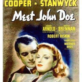 Meet John Doe is listed (or ranked) 14 on the list Free Movies! The Best Films in the Public Domain