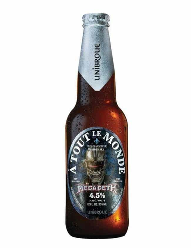 Megadeth is listed (or ranked) 1 on the list Rock Bands With The Coolest Custom Beers