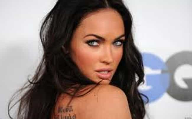Megan Fox is listed (or ranked) 3 on the list The Most Beautiful Celebrities Of Our Time