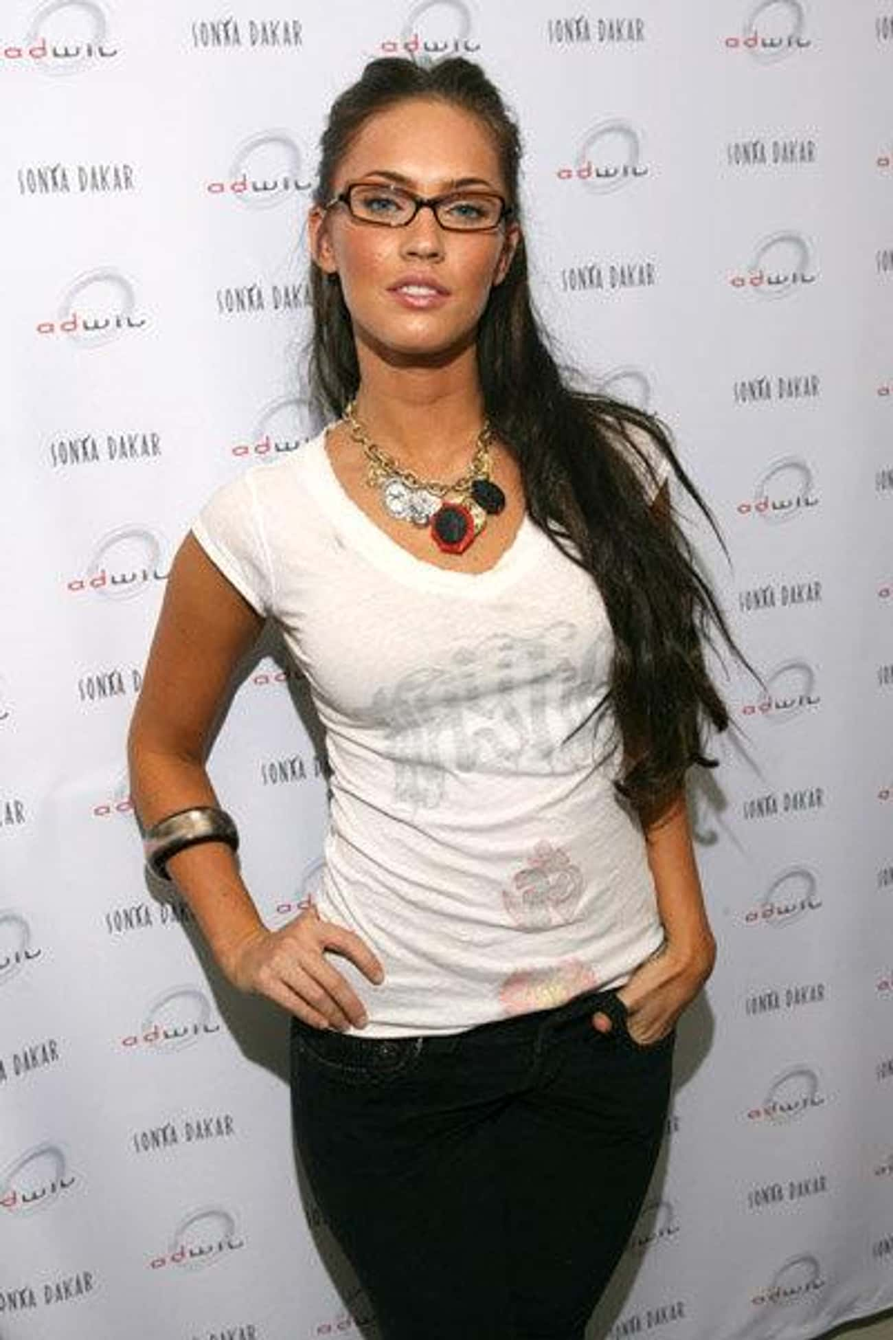 Megan Fox is listed (or ranked) 2 on the list The Sexiest Famous Girls Who Wear Glasses