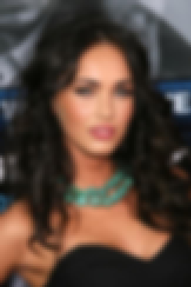 Megan Fox is listed (or ranked) 2 on the list List of Famous Bisexual People