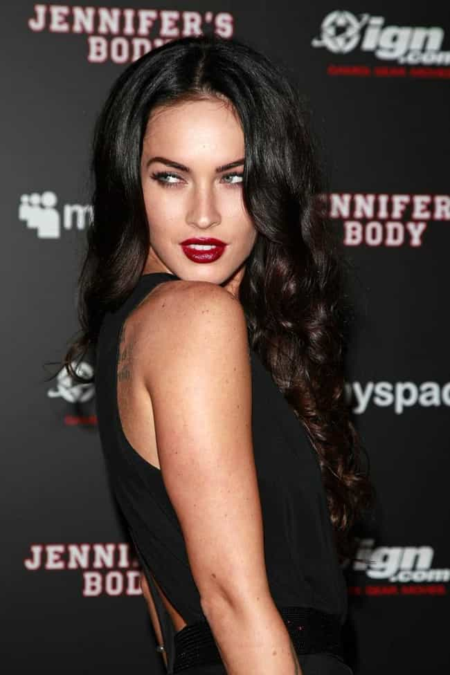 Megan Fox is listed (or ranked) 3 on the list Celebrities with Birth Defects