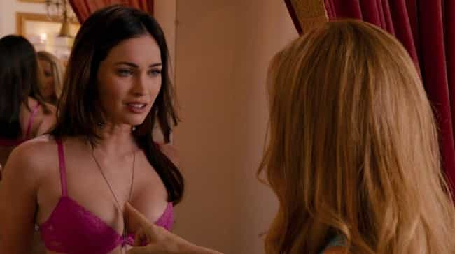Megan Fox is listed (or ranked) 4 on the list The Best Bra Reveals in Cinematic History