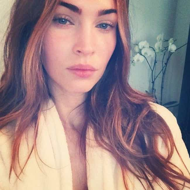 Megan Fox is listed (or ranked) 4 on the list 8 Celebrities Who Somehow Survived on Questionable and Disgusting Diets