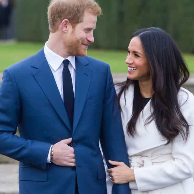 Meghan, Duchess of Susse... is listed (or ranked) 1 on the list Prince Harry Loves and Hookups