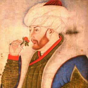 Sultan Mehmed II is listed (or ranked) 11 on the list The Most Important Leaders In World History