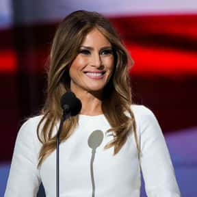 Melania Trump is listed (or ranked) 25 on the list Celebrities Who Made The Biggest Cultural Impact In 2017