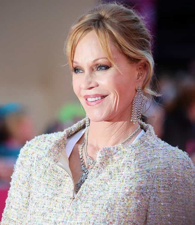 Melanie Griffith is listed (or ranked) 10 on the list 18 Celebrities Who Married as Teenagers