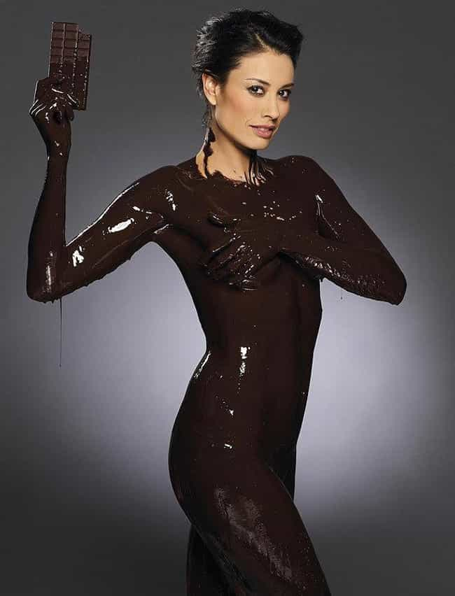 Melanie Sykes is listed (or ranked) 1 on the list Celebrities Getting Wet With Stuff Other Than Water