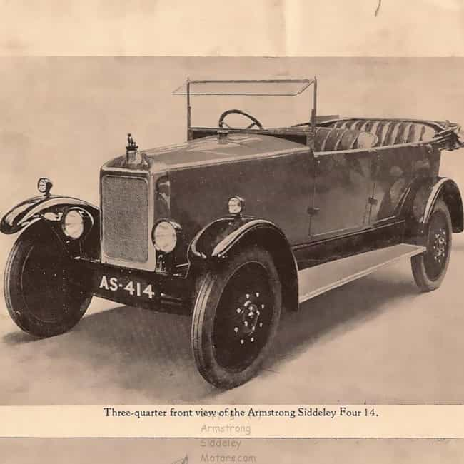 Armstrong Siddeley 14 is listed (or ranked) 3 on the list Full List of Armstrong Siddeley Models