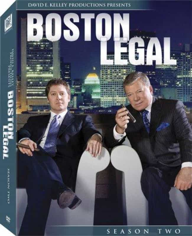 Boston Legal - Season 2 is listed (or ranked) 1 on the list The Best Seasons of Boston Legal