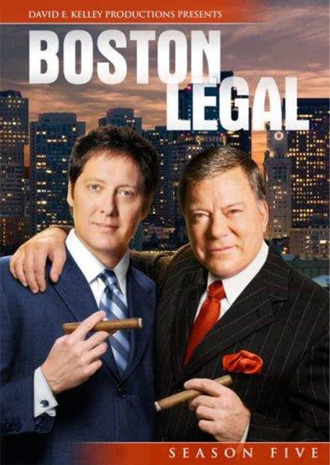 Boston Legal - Season 5 is listed (or ranked) 4 on the list The Best Seasons of Boston Legal