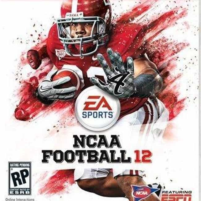Mark Ingram, Jr. is listed (or ranked) 4 on the list NCAA Football Cover Athletes