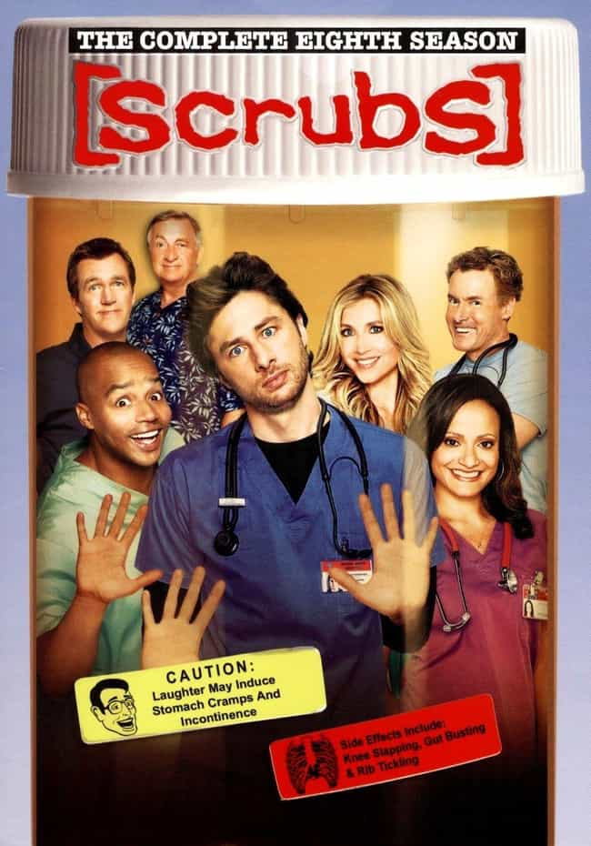 Scrubs - Season 8 is listed (or ranked) 5 on the list The Best Seasons of 'Scrubs'