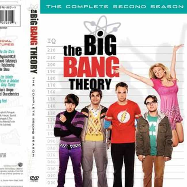 The Big Bang Theory - Season 2 is listed (or ranked) 2 on the list The Best Seasons of The Big Bang Theory