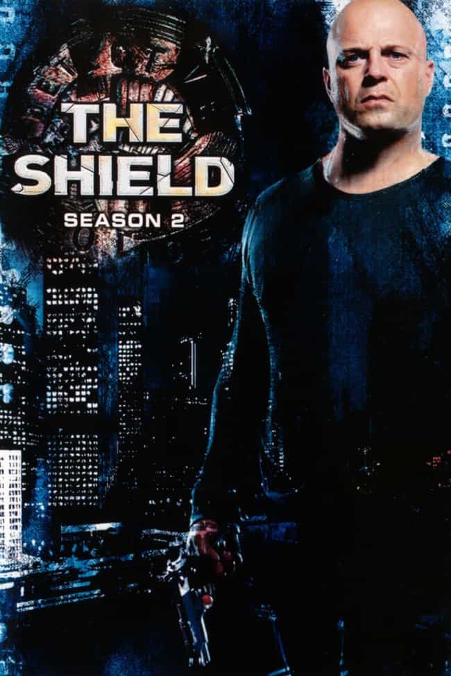 The Shield - Season 2 is listed (or ranked) 3 on the list The Best Seasons of 'The Shield'
