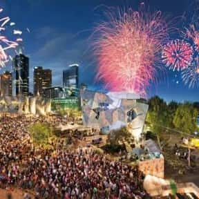 Melbourne is listed (or ranked) 23 on the list The Best Cities to Party in for New Years Eve