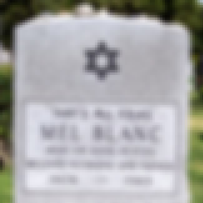 Mel Blanc is listed (or ranked) 1 on the list The Best Celebrity Tombstones