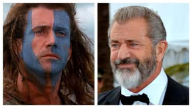 Mel Gibson is listed (or ranked) 1 on the list Here's What All The Stars Of 'Braveheart' Look Like Now