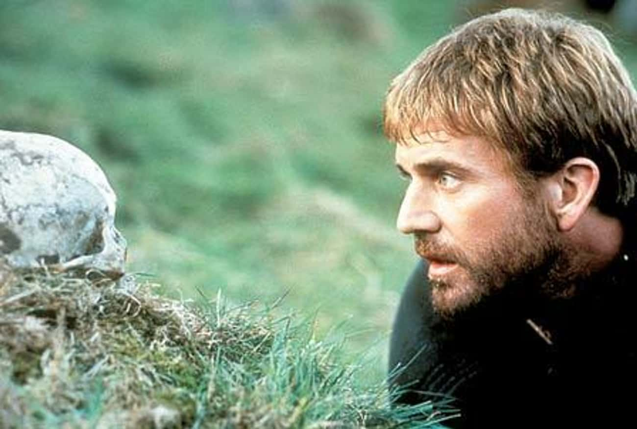 Mel Gibson is listed (or ranked) 1 on the list Actors Who Have Played Hamlet