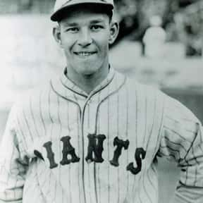 Mel Ott is listed (or ranked) 19 on the list List of Famous Baseball Right Fielders