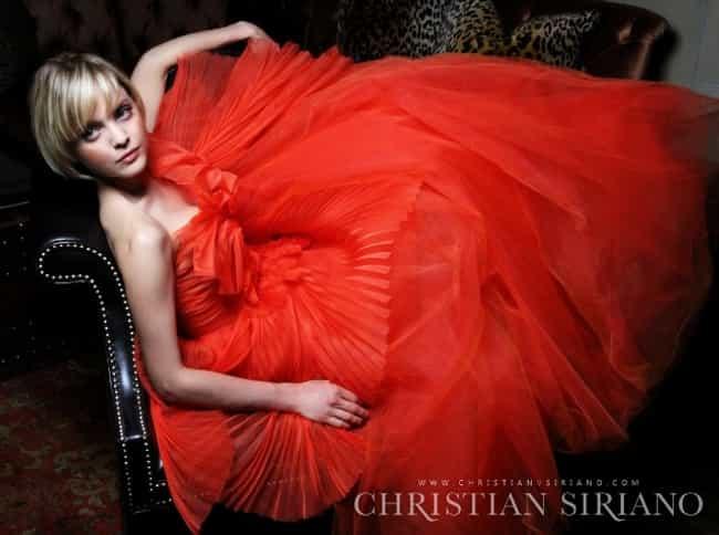 Mena Suvari is listed (or ranked) 3 on the list Christian Siriano Dresses on Celebrities